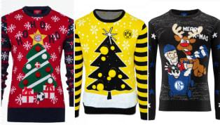 Passend zu Weihnachten bringen dieBundesliga-Klubs wieder ihre beliebten Weihnachtspullover auf den Markt. 90min zeigt euch, wie die Christmas Sweater bei...