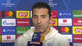 Gigi Buffon, portiere dellaJuve, è tornato a vestire la maglia della Juve in Champions a un anno e mezzo di distanza dall'ultima volta. Il numero 77...