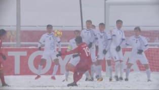 Bàn thắng của Quang Hải vào lưới U23 Uzbekistan tại trận chung kết U23 châu Á 2018 mới đây đã được AFC tôn vinh là một trong những bàn thắng biểu tượng của...