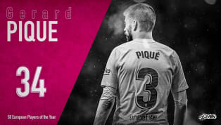Gerard Piqueis ranked 34th in 90min's European Player of the Year series. It's been a busy year for Gerard Pique. What with launching a newly rebranded Davis...