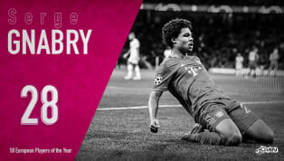 Serge Gnabry is ranked 28th in 90min's European Player of the Year series. While fans in Europe and Germany in particular have been aware of Serge Gnabry's...
