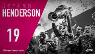 ​Jordan Henderson is ranked 19th in 90min's European Player of the Year series. On 1 June 2019, Liverpool's Jordan Henderson finally got his hands on Europe's...