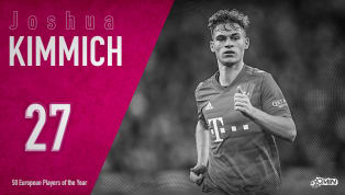 Joshua Kimmichis ranked 27th in 90min's European Player of the Year series. Bayern Munich have endured a rather difficult start to the 2019/20 season, having...