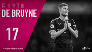 "Kevin de Bruyne is ranked 17th in 90min's European Player of the Year series. ​""LET ME TALK...LET ME TALK...LET ME TALK,"" a Belgian voice moaned as the..."