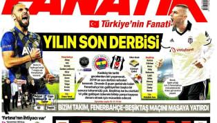 Galatasaray'ın Göztepe deplasmanında elde ettiği 2-1'lik mağlubiyet gazetelerde ağırlıklı olarak yer buldu. Fenerbahçe-Beşiktaş derbisi öncesindeki...