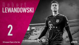 Robert Lewandowski is ranked 2nd in 90min's European Player of the Year series. Robert Lewandowski has been widely recognisedas one of the most prolific...
