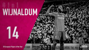 Georginio Wijnaldum is ranked 14th in 90min's European Player of the Year series. There's no doubt who the standout team of 2019 was. Jurgen Klopp and his...
