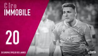 Ciro Immobile belegt Platz 20 in unserem Rankingder 20besten Spieler des Jahres 2019. BeiBorussia Dortmundgalt Ciro Immobile als Flop, bei Lazio Rom...