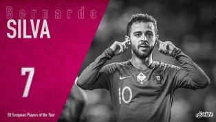 Bernardo Silva es el séptimo mejor jugador europeo del año para 90min Ni es la principal estrella en su equipo, ni tampoco lo es en su selección, pero no hay...