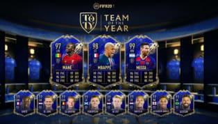 EA Sports FIFA 20 mới đây đã công bố đội hình hay nhất năm với khá nhiều bất ngờ. Lionel Messi,Mbappe, Sadio Mane,...và loạt ngôi sao khác có tên trong đội...