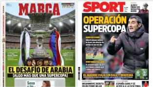 El torneo que tendrá lugar entre mañana, miércoles 8, y domingo ocupa gran parte de las primeras planas de los principales diarios deportivos españoles. Las...