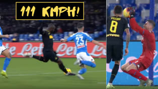 Napoli'keeper Alex Meret reportedly injured his hand trying to save Romelu Lukaku's alleged 111 kmph rocketshot, in his team's 3-1 midweek defeat...