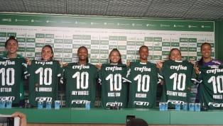 Neste sábado (11), oPalmeirasanunciou, na Academia de Futebol, sete jogadoras para o time feminino de 2020. As novas atletas do clube deram entrevista...