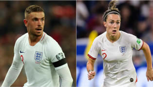 2019 ​Liverpool midfielder Jordan Henderson has been named as the 2019 BT England Men's Player of the Year, while Olympique Lyonnais right-back Lucy Bronze has...