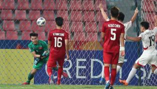  ทีมชาติเวียดนาม ไม่สามารถผ่านเข้าไปเล่นรอบ 8 ทีมสุดท้ายฟุตบอล เอเอฟซี ยู-23 แชมเปี้ยนชิพ เมื่อพวกเขาปราชัยต่อ ทีมชาติเกาหลีเหนือ 2-1...