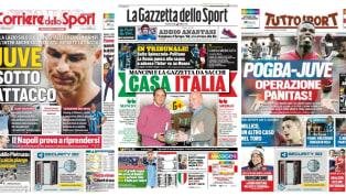 Segui 90min su Facebook, Instagram e Telegram per restare aggiornato sulle ultime news dal mondodella Serie A! LaJuventussogna ancora il ritorno di Paul...