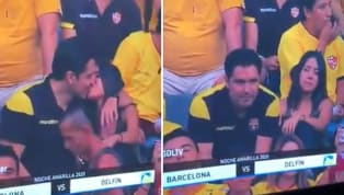 Thefootball fan who gotcaught on kiss-cam with a womanbefore realising what had happened and pulling awayhas admitted he was cheating after the clip...