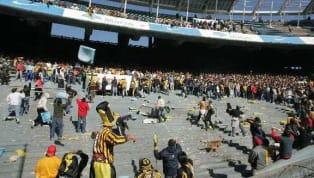 Final por un ascenso a la B Nacional en cancha de Racing. Se enfrentaban Almirante Brown y Estudiantes de Buenos Aires. Hubieron graves incidentes que...