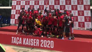 O Vasco da Gama, de Esmeraldas, é o grande campeão da Taça Kaiser de 2020. Na manhã deste domingo (26), a equipe comandada por Evandro Alves adentrou o campo...