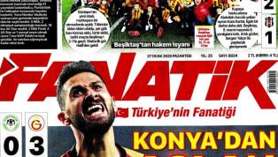 Beşiktaş'ın 2-1'lik Göztepe yenilgisi ve Galatasaray'ın 3-0'lık İttifak Holding Konyaspor galibiyeti gazetelerde ağırlıklı olarak yer buldu. Pazartesi gününün...