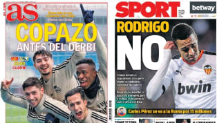 El desacuerdo entre FC Barcelona y Valencia para tratar de cerrar la llegada de Rodrigo Moreno al Camp Nou, junto a la visita del Real Madrid al Real Zaragoza...