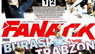 Beşiktaş'ın Çaykur Rizespor deplasmanındaki, Trabzonspor'un ise Fenerbahçe karşısındaki 2-1'lik galibiyeti gazetelerde ağırlıklı olarak yer buldu....