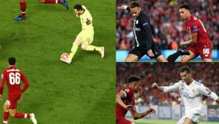 Trent Alexander-Arnold đã đụng độ không ít đối thủ sừng sỏ, từ Neymar đến Lionel Messi và Cristiano Ronaldo. Theo hậu vệ cánh...