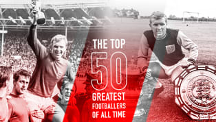 Bobby Moore is Number 30 in 90min's Top 50 Greatest Footballers of All Time series Bobby Moore lifted the World Cup for England in 1966 as Beatlemania reached...