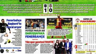 Beşiktaş'ın Medipol Başakşehir deplasmanındaki 1-0'lık yenilgisi gazetelerde ağırlıklı olarak yer buldu. Ankaragücü-Fenerbahçe maçı öncesindeki gelişmelerin...