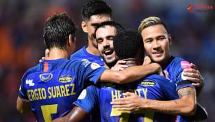  การแข่งขันฟุตบอลโตโยต้า ไทยลีก ฤดูกาล 2020 นัดที่ 1วันแข่งขันวันเสาร์ที่ 15 กุมภาพันธ์ 2020ผลการแข่งขันการท่าเรือ เอฟซี 4-1 นครราชสีมา มาสด้า เอฟซีสนามแพท...