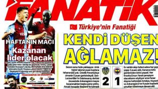Fenerbahçe'nin Ankaragücü deplasmanındaki 2-1'lik yenilgisi günün haberlerinde ağırlıklı olarak yer buldu. Trabzonspor ve Galatasaray'ın lig maçları...