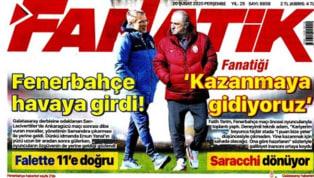 Spor Toto Süper Lig'in 23. haftasındaki dev mücadeleler öncesindeki gelişmeler gazetelerde ağırlıklı olarak yer buldu. Perşembe gününün öne çıkan haber...