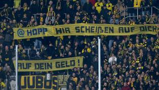 Der DFB-Kontrollausschuss greift durch und setzt eine im November verhängte Bewährungsstrafe gegen denBVBaus: Borussen-Fans dürfen bis 30. Juni 2022nicht...