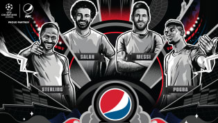 aign Pepsi MAX have launched a new 'Play Never Stops' campaign, working alongside global stars Lionel Messi, Paul Pogba, Raheem Sterling and Mohamed Salah. The...