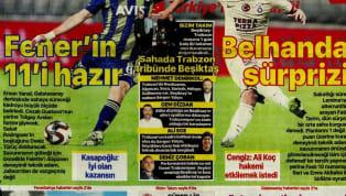 Spor Toto Süper Lig'in 23. haftasında oynanacak olan dev mücadeleler öncesindeki gelişmeler gazetelerde ağırlıklı olarak yer buldu. Cuma gününün öne çıkan...