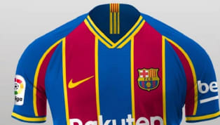 erge Information has leaked in Spain as to what Barcelona's kits will look like from 2020/21, with players having already been shown the striking new design,...