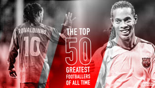 lona Ronaldinho is number 26 in 90min's Top 50 Greatest Footballers of All Time series ​Very, very occasionally, a footballer comes along who is so good that...