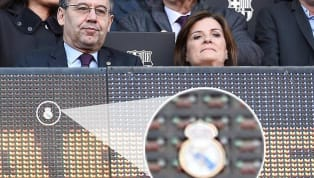 Barcelonapresident Josep Maria Bartomeu was at the centre of attention during FC Barcelona's clash against Eibar. Cameras were continuously showing him at...
