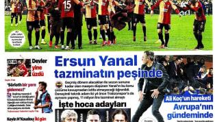 Galatasaray'ın Fenerbahçe deplasmanındaki 3-1'lik galibiyetin yankıları bugünkü gazetelerde de yer buldu. Salı gününün öne çıkan haber başlıkları şu...