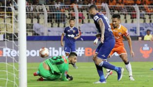 News FC Goahost Chennaiyin FC in the return leg of theirIndian Super League(ISL)semi-final fixture at the Jawaharlal Nehru Stadium in Fatorda, Goa, on...