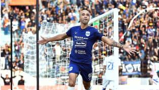 PSIS Semarang mendapatkan kemenangan atas Arema dalam pertandingan pekan ketiga kompetisi Liga 1 2020 di Stadion Madya Magelang pada Sabtu (16/3). Gol dari...