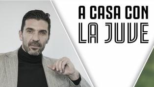 """Il protagonista odierno di """"A casa con la Juve"""" è statoGianluigi Buffon, intervenuto insieme al cantante Bugo su J Tv. Il portiere dellaJuventusha..."""