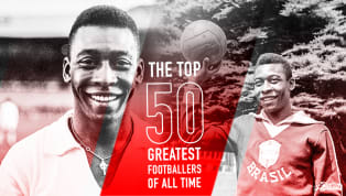 """Pelé is Number 2 in 90min's Top 50 Footballers of All Time Series """"The ambition should always be to play an elegant game."""" The world was far less connected..."""