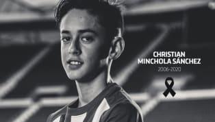 Atletico Madrid mới đây đã thông báo tin buồn khi sao trẻ chỉ mới 14 tuổi của đội bóng là Christian Minchola đã bất ngờ qua đời. Minchola sinh năm 2006 và gia...