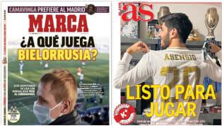 En las portadas del penúltimo día de marzo aparecen la única liga de la Confederación Europea que se está disputando con espectadores y la vuelta del...