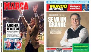 Los principales medios de prensa escrita en España han querido despedirse del ex entrenador serbio, que pasó por FC Barcelona, Real Madrid y Atlético de...
