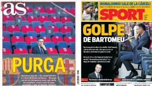 La guerra abierta en los despachos del FC Barcelona, con Josep Maria Bartomeu centralizando cada vez más su poder a falta de algo más de un año para expirar...