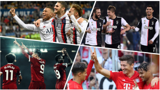 Đội bóng nào đang sở hữu bộ ba hàng công hay nhất hiện tại? Cùng điểm mặt 10 tam tấu ghi bàn tốt nhất bóng đá châu Âu mùa này. Số bàn thắng được tính trên...