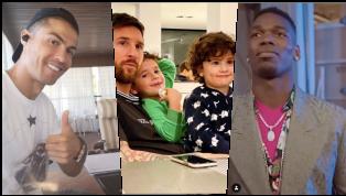 Mùa dịch Covid-19 khiến cho Lionel Messi, Ronaldo và tất cả các ngôi sao bóng đá đều ở nhà nhiều tuần qua. Mạng xã hội là nơi mà các ngôi sao bóng đá hoạt...
