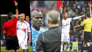 Đội hình 11 cầu thủ sau đây đang nắm giữ kỷ lục nhận nhiều thẻ đỏ nhất trong lịch sử bóng đá thế giới. Tổng cộng 168 thẻ đỏ, trong đó chắc chắn không thể...
